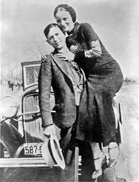 Bonnie & Clyde, les vrais - La Bourboule, 1932