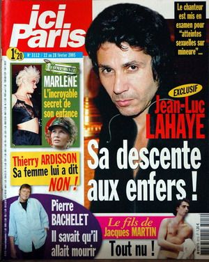 Scoop Ici Bonnie !!! Jean-Luc Lahaye, son drame secret !!
