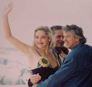 Photocall Basic Instinct - Cannes 1992