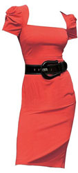 The Red Recession Dress -£9.99 chez The Big Discount Store (UK)